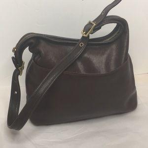 Vintage Coach Legacy Hobo Bag in rich Brown